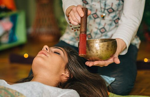 singing bowl therapy