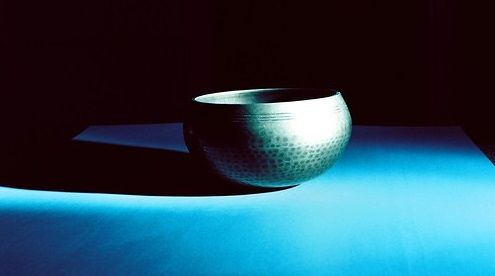 used singing bowl